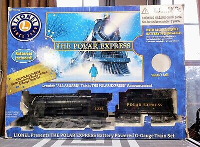 NICE Lionel Polar Express Battery Wireless Train Set G Gauge 7-11022 Christmas