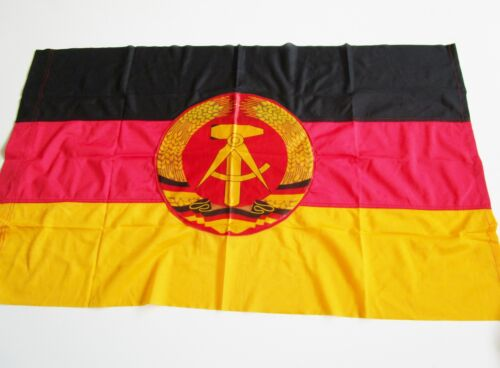 "Vintage East German Army NVA Military National Flag 22"" x 37 ""  Germany country"