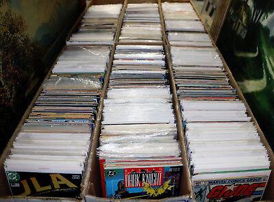 300 Comic Books Lot Marvel DC Dark Horse Image Vertigo Indie COMICS 1 Long Box!
