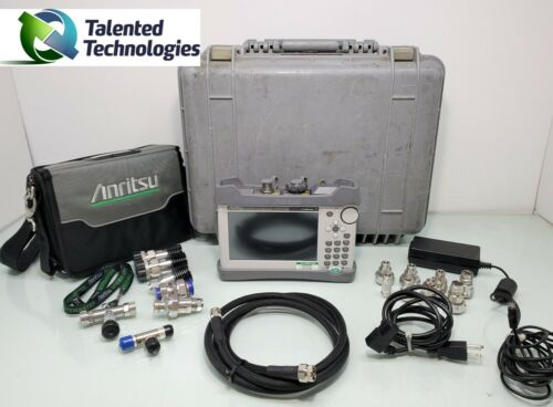 ANRITSU S331L SITE MASTER HANDHELD CABLE AND ANTENNA ANALYZER
