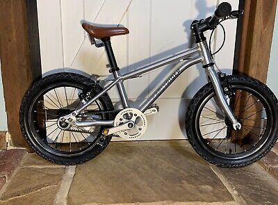 """Early Rider Belter 16"""" Childs Pedal Bike in Silver Single Speed"""