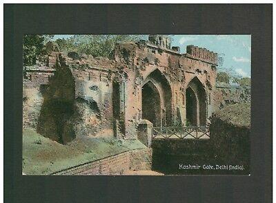 INDIA KASHMIR GATE DELHI COLOUR PHOTO POSTCARD UNPOSTED SHUREY'S PUBLICATION