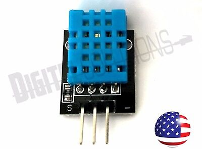 Digital Humidity And Temperature Sensor Module For Arduino Avr Pic - Dht11