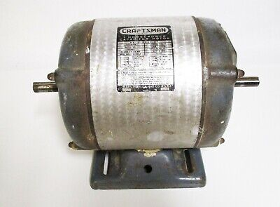 Vintage Craftsman 1 Hp Electric Motor Lathe Table Saw Jointer
