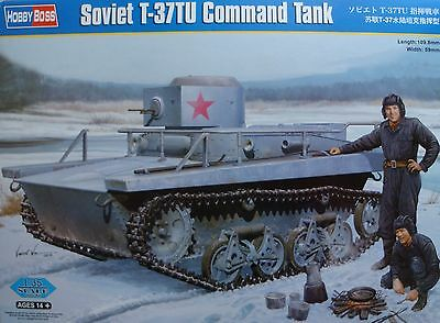 HOBBYBOSS® 83820 Soviet T-37TU Command Tank in 1:35