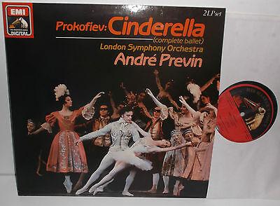 SLS 1435953 Prokofiev Cinderella Complete Ballet London Sym Orch Andre Previn