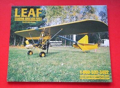 LEAF LEADING EDGE AIR FOILS CATALOG...JANUARY/2002...58 PAGES