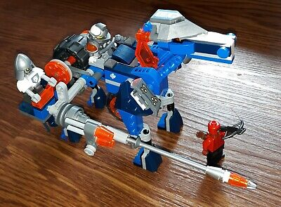 Lego Nexo Knights 70312 Lance's Mecha Horse, 100% complete with instruction.
