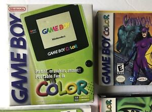 GAMEBOY COLOR (KIWI) + CHEAT BOOK + 4 GAMES