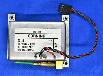 Corning Mc833x4-006w 10.000000mhz 1813-0644 Crystal Controlled Oscillator