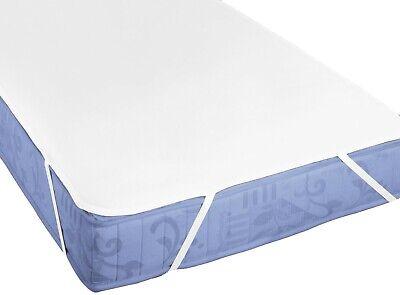 biberna Molton Matratzenauflage Matratzenschoner Matratzenschutz 140x200 1b Weiß