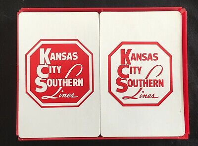 Used, Vintage Kansas City Southern Lines Playing Cards for sale  Rio Rancho