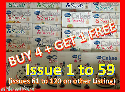 Disney Cakes And Sweets Decorating Collection magazine : ISSUES 1 TO 60](Disney Cakes And Sweets)