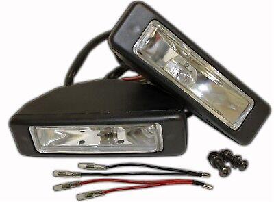 headlights 12v for go kart, pair of rack lights yerf-dog fun cart gx150 new  5547
