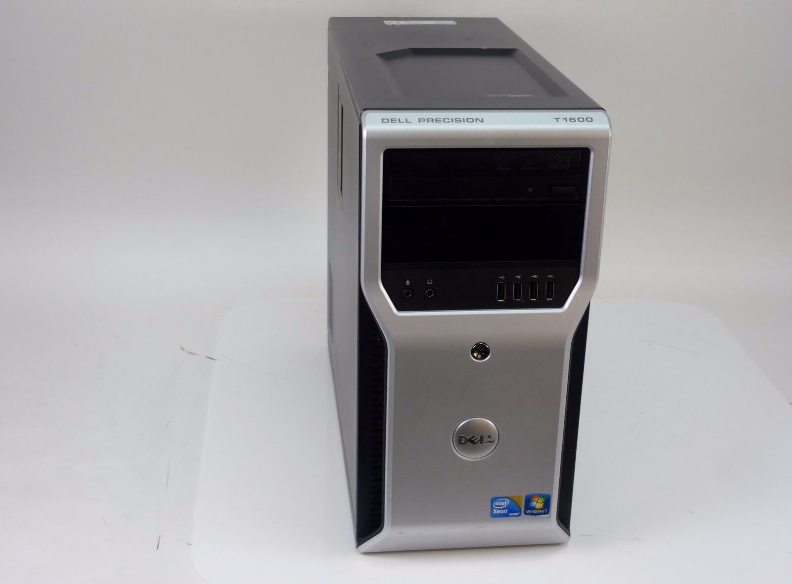 WOW Dell Precision T1600 Mini Tower Desktop Quad Core Xeon 3.10GHz 500GB 8GB W10