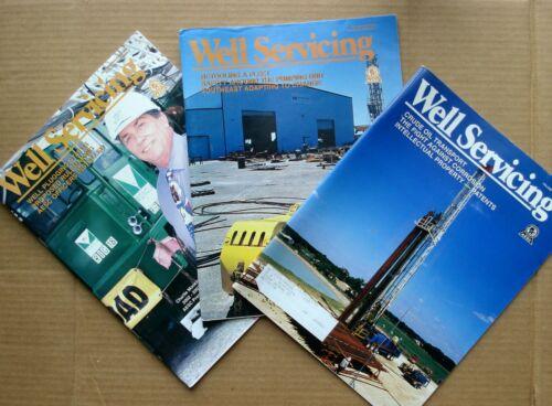 3 Well Servicing Magazines AESC 2002 Vol 42 No 3 4 5 Energy Oil Gas Coal