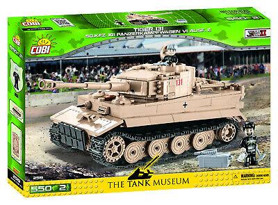 Cobi 2519 SD.KFZ.181 Panzerkampfwagen VI Ausf. E Bausatz 550 Teile / 2 Figuren