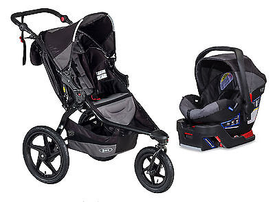 BOB Revolution Flex Swivel Wheel Jogging Stroller, Lagoon, 1