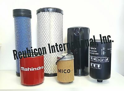 Mahindra Tractor Economy Pack Of 6 Filters -0455.0456.1778.8618.7310.3427