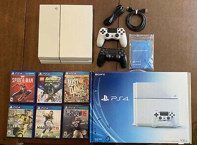 Sony PlayStation 4 - PS4 - Destiny Edition 500 GB Glacier White Console Bundle