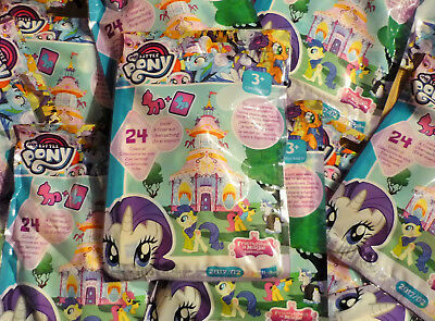 Hasbro - My Little Pony - 8 Tüten - Booster Blind Bag Pferde Pferdchen - Wave 20