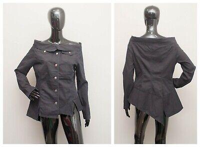 IVAN GRUNDAHL Jacket Peplum Asymmetric Blazer Top 40 UK12