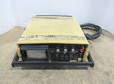Huntron Tracker Htr 1005b-1s 110125v Circuit Analyzer For Partsrepair No Power