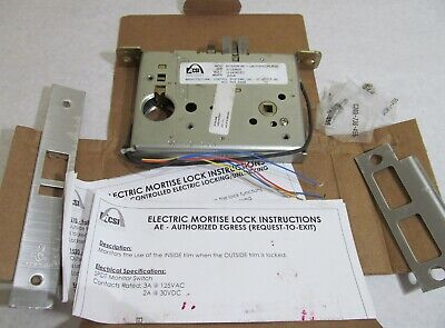 Schlage Asci M1520m-ae-1-l9070b Electric Mortise Fail-safe Lock Body 12-24vacdc