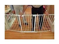 3 part child safety gate