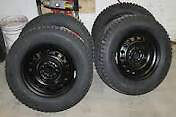 """18""""  winter tire set with rims   fit  chrysler 300"""