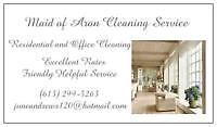 Professional House Cleaning  Manotick/Greely/Rverside S.