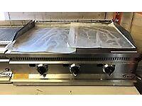 Griddle 3 Burner Gas EN374