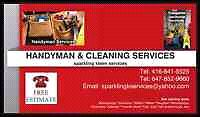 Cleaning/Handyman services