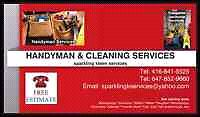 CLEANING/HANDYMAN SERVICES?