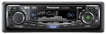 PANSONIC CQ-5303N CD/MP3 FRONT PANEL ONLY FACE PLATE