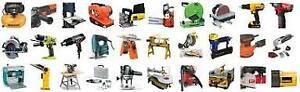 Power hand and automotive tools, and towing lights, etc.