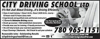 Take driving lessons at CITY DRIVING SCHOOL