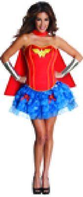Rub - Justice League Damen Kostüm Wonder Woman zu Karneval Fasching