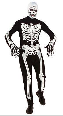 Kinder Skelett Kostüm Overall Halloween Kostüm Teen Jungen Mädchen Alter 12-16