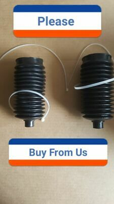 Steering Rack Bellow Boot Left Right Pair for Acura , -