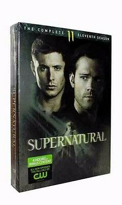 Supernatural The Complete Eleventh Season 11 (DVD, 2016, 6-Disc Set)