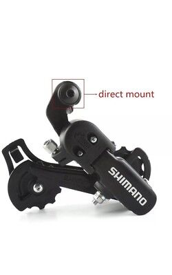 Shimano Rear Derailleur RD-TZ31 6/7 Speed Direct Mount For Mountain Bike Direct Mount Rear Derailleur