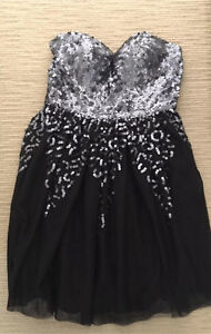 "Black Sequin Dress Size 10 By ""Be Seduced Luxe"" New With Tags Beaconsfield Fremantle Area Preview"