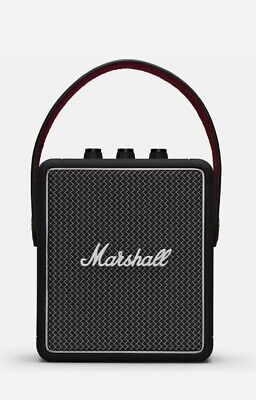 Marshall Stockwell II Portable Bluetooth Speaker - Black UK stock
