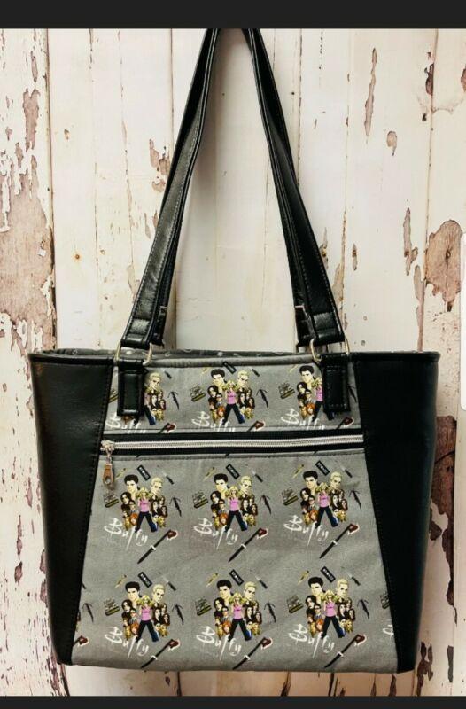 Buffy The Vampire Slayer Tote Bag Purse RARE handmade NEW Slayer fabric *READ*