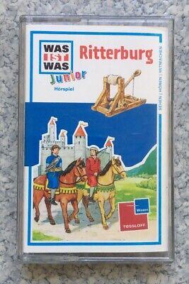 Junior-ritter (WAS IST WAS Junior: Ritterburg [Musikkassette/Hörbuch) neuwertig)