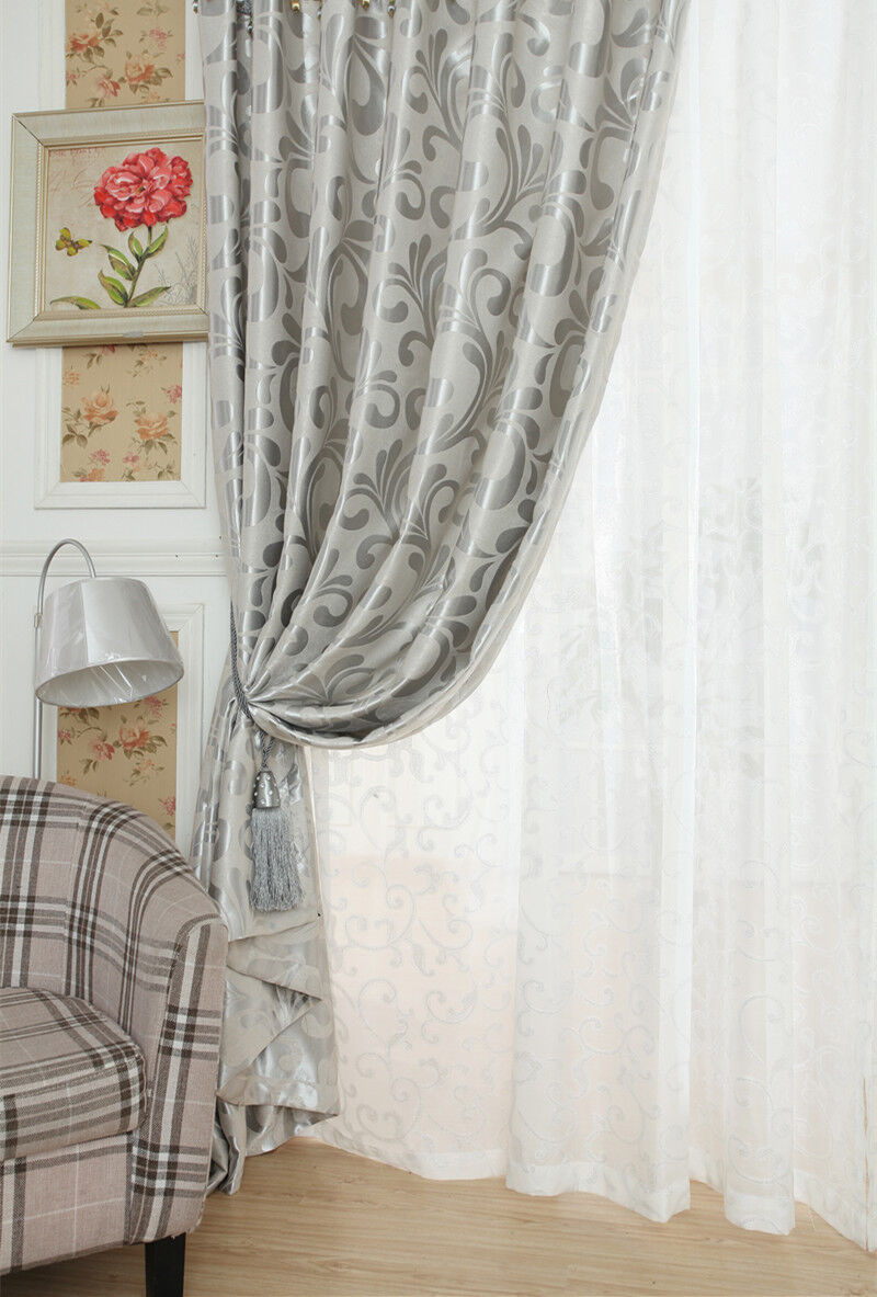 """Asian Chinese Style /""""Hetang Yuese/"""" Living room Bedroom Blockout Curtains Eyelet"""