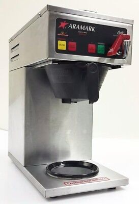 Curtis Alpha Model 2ds Alp2ds10a090 Coffee Brewer Machine Dual 2 Warmers 120v