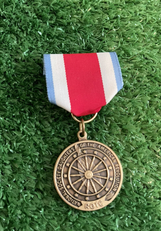 National Society Daughters of the American Revolution Medal. ROTC