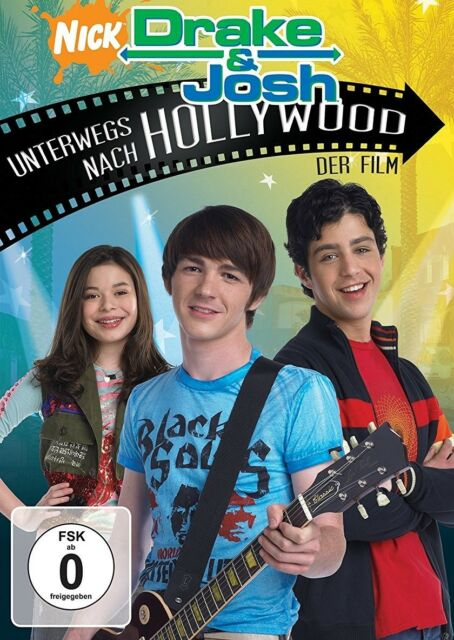 DRAKE UND JOSH: UNTERWEGS NACH HOLLYWOOD   DVD NEU  DRAKE BELL/JOSH PECK/+